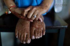 Indian bridal mehndi on feet via IndianWeddingSite.com