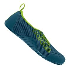 adidas JR Kurobe K. Catalog number: Features: * JUNIOR water shoes* turquoise* collection: children's shoes have a comfortable, slip-on design, and their Swimming Sport, Childrens Shoes, Water Shoes, Sports Shoes, Adidas Logo, Adidas Shoes, Blue Green, Slip On, Turquoise