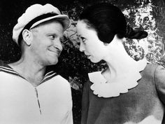 "Williams played Popeye and Shelley Duvall played Olive in the 1980 musical comedy ""Popeye.""  Paramount Pictures via AFP/Getty Images"