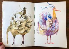 Visual Journals, Children Books, Sketchbooks, Instagram, Notebooks, Illustration, Sketch Books, Children's Books, Notebook