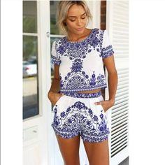 Super cute set Adorable & comfy set not sabo skirt just listed for exposure  Sabo Skirt Other