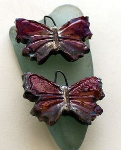 Butterfly Droppers by ScorchedEarthonEtsy on Etsy