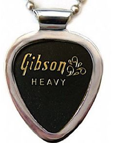 "1960s #Vintage #Gibson ""Splash"" guitar pick + #Pickbay #guitarpickholder necklace http://www.pickbay.com/proddetail.asp?prod=gibsonsplashset #vintageGibson #gibsonsplashguitarpick #guitarpicknecklace #bestgift #gibsonguitargift #vintageGibsonguitar"