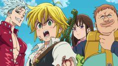 Enrique Lopez (@enriquevisions) | Twitter #anime Seven Deadly Sins anime #SevenDeadlySins