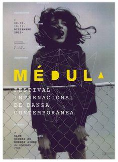 Lucía LadrechePoster for Médula International Festival of Contemporary Dance