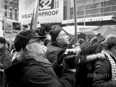 the demonstration in the Time Square in New York(2ú¼2009-1)