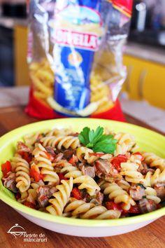 Paste, Fusilli, Pasta Salad, Ethnic Recipes, Food, Crab Pasta Salad, Hoods, Meals