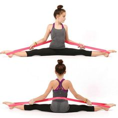 $12.99 AUD - Rubber Elastic Stretch Band Leg Stretching Fr Ballet Dance Yoga Pilate Training #ebay #Lifestyle