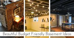 20 Budget Friendly But Super Cool Basement Ideas - Looking to get some inspiration for your basement? Here are some cool basement ideas that will turn a drab basement into a fab basement. Teen Basement, Cool Basement Ideas, Basement Bedrooms, Basement Apartment, Cozy Basement, Basement Kitchen, Basement Storage, Basement Bathroom, Basement Remodel Diy