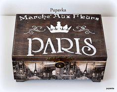 Paris / Pupavkashop - SAShE.sk - Handmade Krabičky