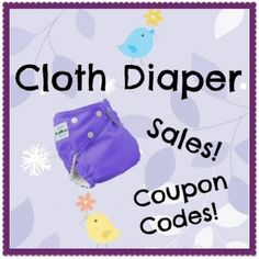 Diaper covers for just FIVE dollars plus more great sales, coupon codes and freebies!! Check out my report!