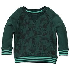 Fill Boys Lo sweat, fir green