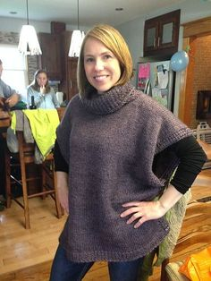Ravelry: christinabornn's Azel Pullover - standard pattern calls for super bulky, move the buttons up just a bit. For wood stove weather.