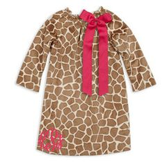 Check out this Brown Giraffe Minky Dress for $32 or find your favorite gifts at Lolly Wolly Doodle. Click on the link to receive three dollars off your next order!