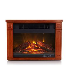 Heat Surge Mini Glo Infrared LED Fireplace Heater at HSN.com