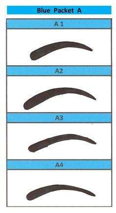 Eyebrow printable stencils to use free printable eyebrow for Printable eyebrow stencil template