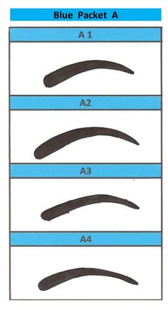 Eyebrow stencil on pinterest brows eyebrows and eyebrow for Eyebrow templates printable