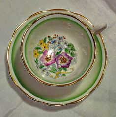 Royal Albert Bone China Vintage Tea Cup and by WoodsHarbourTeaRoom