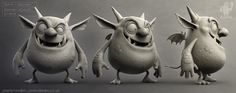 A design idea for Impz! Sculpt by clare price with aditional sculpting by me.