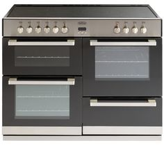 Buy BELLING DB4 110E Electric Ceramic Range Cooker - Stainless Steel | Free Delivery | Currys