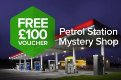 Become a Petrol Station Mystery Shopper!