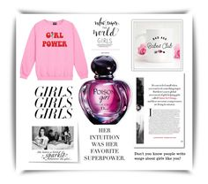 Girl Pride by igiulia on Polyvore featuring Christian Dior, WALL, Naked & Famous, womensHistoryMonth, pressforprogress and GirlPride