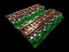 Lego Road, Lego Trains, Custom Lego, Train Layouts, Lego Building, Lego Brick, Lego Creations, Legos, Display