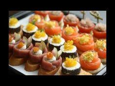 праздничные закуски и бутерброды рецепты с фото - YouTube