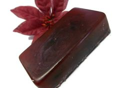 Charcoal Activated Soap, Peppermint Berry Soap, Detox & Exfoliating Soap, Clarifying Soap, Aromatherapy Beauty Acne Bar Soap