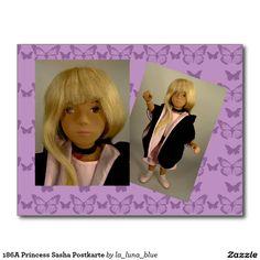 186A Princess Sasha Postkarte