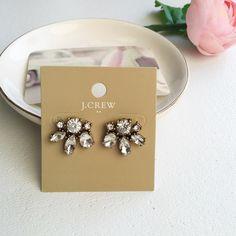 Lovely Jcrew stud earrings Cute Jcrew factory crystal stud earrings J. Crew Jewelry Necklaces