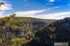 CLOUDLAND CANYON STATE PARK:  WEST RIM LOOP TRAIL