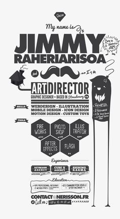creative resume 14 Fantastic Examples of Creative Resume Designs