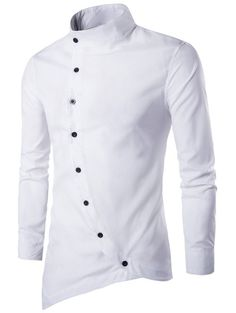 Cheap chemise homme, Buy Quality chemise homme brand directly from China male slimming Suppliers: Men Shirt Long Sleeves 2017 Brand Shirts Men Casual Male Slim Fit Solid color Chemise Mens Camisas Dress Shirts Chemise Homme Casual Shirts For Men, Men Casual, Mens Shirt Pattern, Chemise Fashion, Style Casual, Style Men, Casual Styles, Autumn Fashion Casual, Fashion Spring