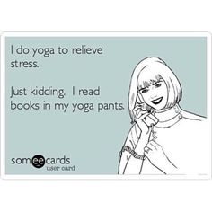 Haha! Yes! #yogapants #reading #books