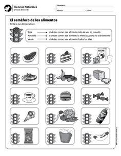 El semáforo de los alimentos