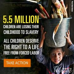 End child slavery now:  14% of the world's girls participate in child labor. Sign the petition to end child labor http://campaignwith.us/hN41AX