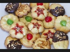 GALLETAS DE MANTEQUILLA o BUTTER COOKIES - YouTube