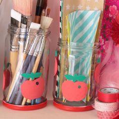 Sur le blog (lien dans le profil) un DIY pour imiter les pots vintage Henkel  #pomme #apple #henkel #pothenkel #vintage by noufinwonderland