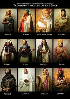Prominent Women Of The Bible Art Print by Icons Of The Bible. All prints are professionally printed, packaged, and shipped within 3 - 4 business days. Choose from multiple sizes and hundreds of frame and mat options. Blacks In The Bible, History Icon, Art History, Design History, Biblical Costumes, Arte Judaica, Black Hebrew Israelites, Bible Images, Scripture Pictures