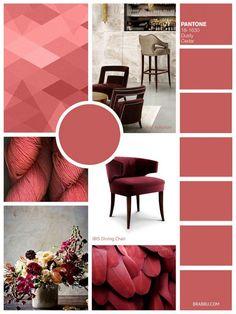 Interior home design Pantone colors - Dusty-Cedar
