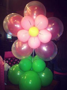 Pretty Pink Flower centerpiece $20
