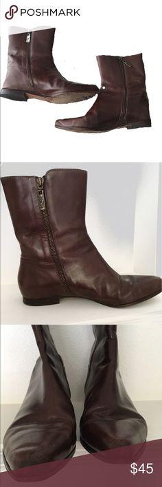 Michael Kors Mid-Calf Brown Riding Boots Michael Kors Mid-Calf Brown Riding Boots - preowned see photos KORS Michael Kors Shoes