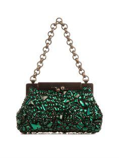 Dolce & Gabbana Sara crystal-embellished bag