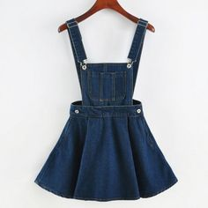 Hand-made detailed kawaii denim overalls. Exclusive boutique style. Material: 100% denim