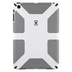 Apple iPad Mini Compatible Speck Candyshell Grip Case - White And Black - $44.95