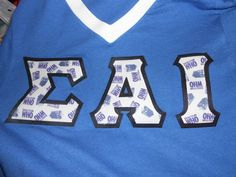 doctor who themed letters. sigma alpha iota I want to own a pair of these someday!!