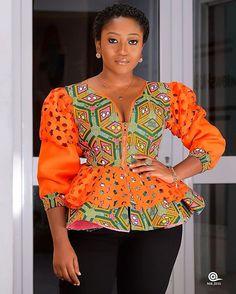 African Attire, African Wear, African Dress, Nigerian Dress Styles, Ankara Gown Styles, African Blouses, African Tops, African Evening Dresses, African Fashion Dresses