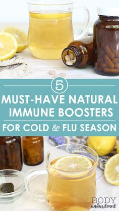 Looking to boost your immune system naturally this cold and flu season? I always keep these 5 must-have natural immune boosters in my medicine cabinet as a quick natural remedy for when the cold or flu comes knocking!