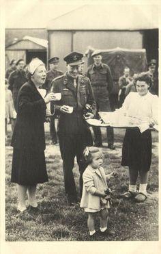 Princess Juliana of The Netherlands and Prince Bernard Return After WW II 1945
